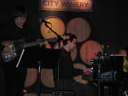 Allen and Binyomin at City Winery